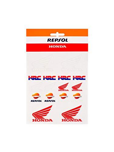 GP RACING Stickerset Repsol Racing Medium Stickers HRC Official Racing Apparel Aufkleber