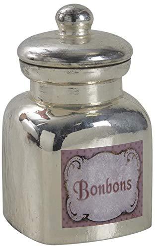 Bonbonnière en verre antique