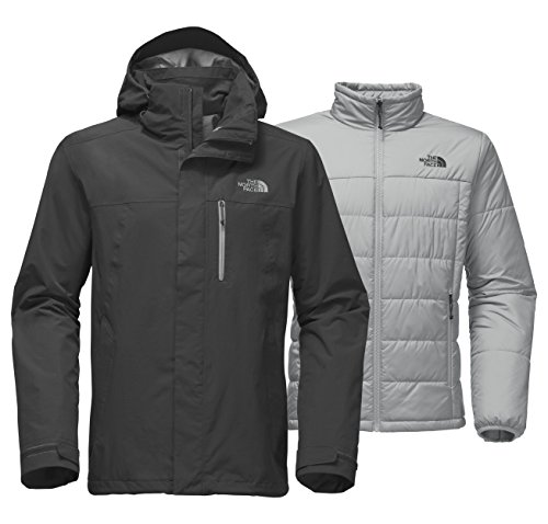 The North Face Men's Carto Triclimate Jacket - Asphalt Grey & Asphalt Grey - 3XL