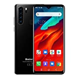 Unlocked Smartphone Blackview A80 Pro, 6.49 inch HD+, 4GB RAM+64GB ROM with 4680mAh Big Battery, 4G Dual SIM for AT&T, T-Mobile Phone,13MP Quad Rear Camera, Android 9.0 Unlocked Cell Phones