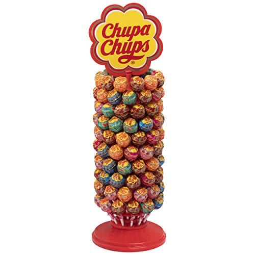 Chupa Chups Original, Caramelo con Palo de Sabores Variados, Rueda de 120 unidades de 12 gr. (Total 1.440 gr.)