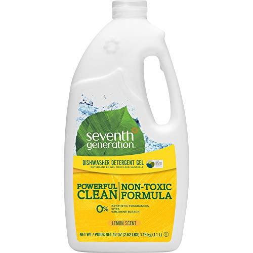 Seventh Generation Automatic Dishwashing Gel Lemon Scent -- 42 fl oz