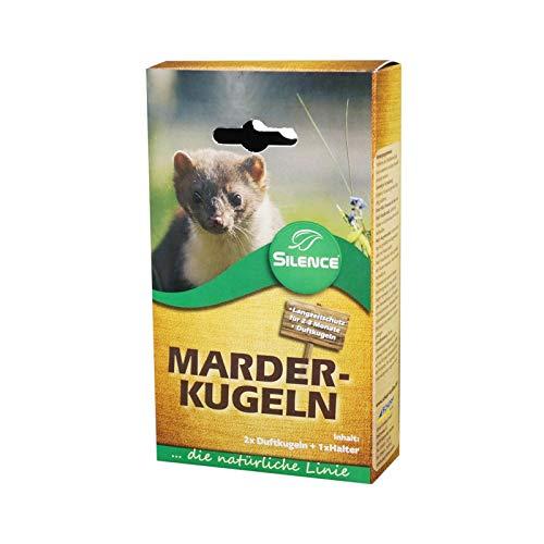Preisvergleich Produktbild Silence Marder-Kugeln zum Schutz vor Marderschäden