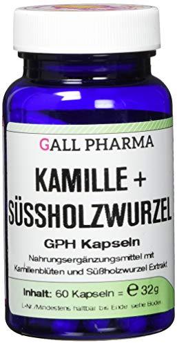 Gall Pharma Kamille + Süßholzwurzel GPH Kapseln, 60 Kapseln