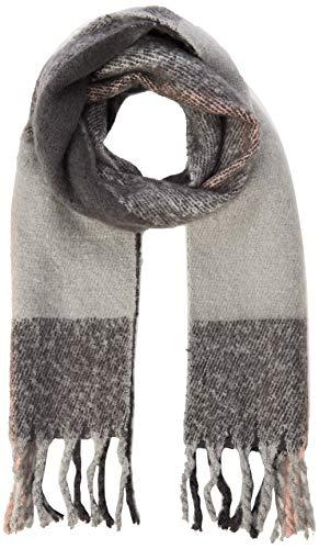 PIECES Damen PCELLIE Long Scarf NOOS Schal, Grau (Dark Grey Melange Dark Grey Melange), (Herstellergröße: One Size)