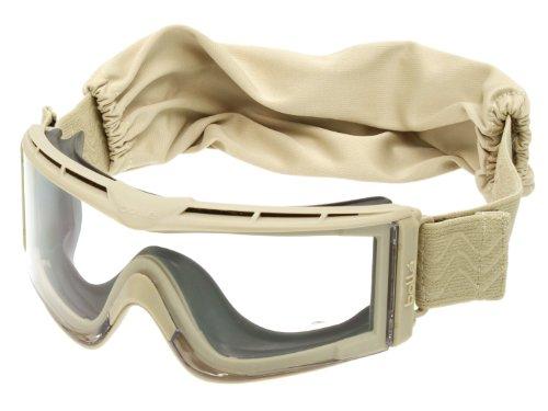 bollé Schutzbrille X810 -TAN- mit Quick-Release-System & Panorama-Sichtfeld [X810SPSI]