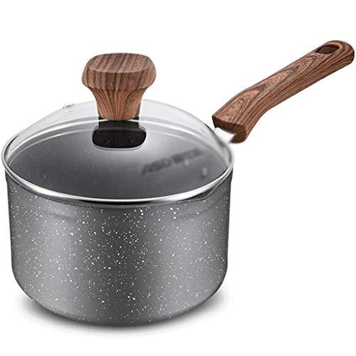 Prioridad Cultura sopa de olla de vidrio Stew Pans Claro Crisol Con restaurante verduras cazuela sopa de olla con tapa de Hogares niños suplementos nutricionales leche caliente olla de cocina Utensili