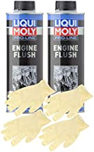 Liqui-Moly Pro-Line Engine Flush (500 ML) Bundle with Latex Gloves (6 Items)