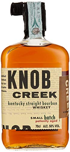 Knob Creek Kentucky Straight Bourbon Whisky, langanhaltend warmer Geschmack, 50% Vol, 1 x 0,7l