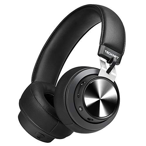 TeckNet Auriculares Bluetooth Inalámbrico con Micrófono Cascos...