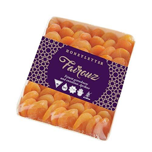 Fairouz getrocknete Premium Aprikosen 800g | getrocknete Marillen | natürlich sonnengetrocknet | ungezuckert | gross und saftig | HALAL