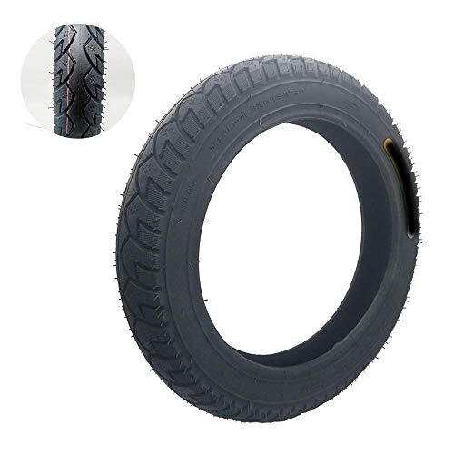 XYSQWZ Neumáticos Duraderos Neumático De Vacío 16x3.00/2.50 6pr Capa Amortiguadora Antideslizante para Bicicleta Eléctrica Neumático De Motocicleta 2 Ruedas De Repuesto para Scooter