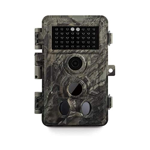 Meidase Game Trail Camera 20MP 1080P, 0.2s Trigger Time Motion Activated, No Glow Night Vision, IP66 Waterproof Cam for Nature Wildlife Deer Scouting & Hunting, Home & Outdoor Security