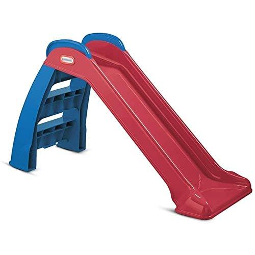 Adesign Niños Slide Slide Juegos for niños Área de Juegos Jardín de Diapositivas de plástico Juguetes for niños de Diapositivas for Exteriores e Interiores