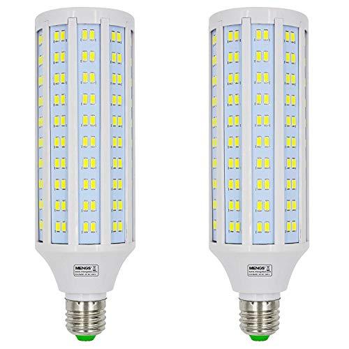 MENGS 2 piezas Bombillas LED E27 30W Blanco Frío 6500K AC 85-265V [Clase de eficiencia energética A+]