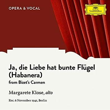 Bizet: Carmen, WD 31: Ja, die Liebe hat bunte Flügel (Habanera) (Sung in German)