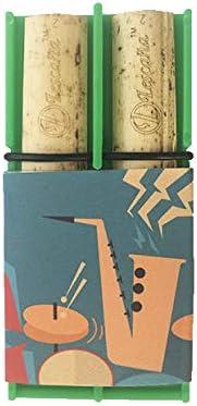 Green Tenor Saxophone Jazzy Rockin' Reed Lescana by Reeds 4 4 years warranty years warranty Holder