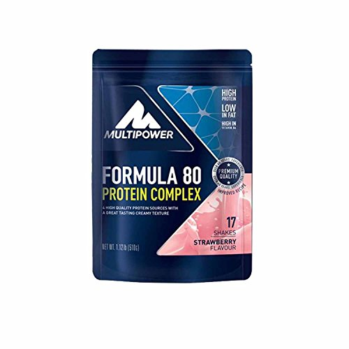 Multipower Formula 80 Evolution, 4 x 510g, Vanille
