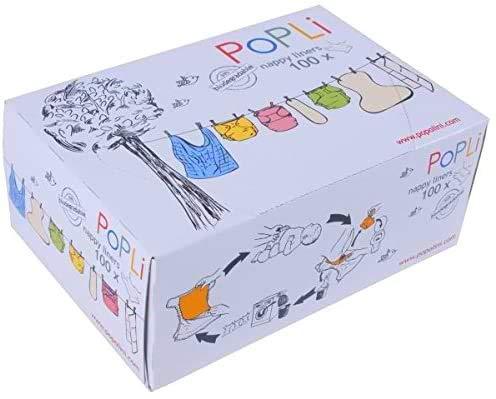 5x Popli Box Einweg-Windelvlies (500 Blatt)