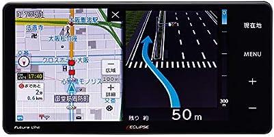 デンソーテン カーナビ ECLIPSE Rシリーズ AVN-R10W 7型ワイド トヨタ/ダイハツ用変換コード付 トヨタマップマスター地図搭載 無料地図更新/フルセグ/Bluetooth/Wi-Fi/DVD/CD/SD/USB/VICS...