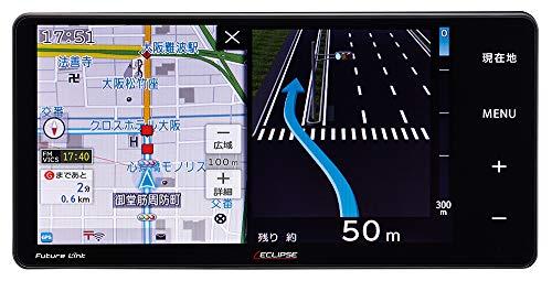 デンソーテン カーナビ ECLIPSE Rシリーズ AVN-R10W 7型ワイド トヨタ/ダイハツ用変換コード付 トヨタマップマスター地図搭載 無料地図更新/フルセグ/Bluetooth/Wi-Fi/DVD/CD/SD/USB/VICS WIDE/タッチパネル/WVGA イクリプス DENSO TEN