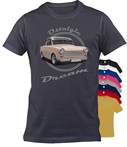 BuyPics4U T-Shirt mit Motiv Trabant Tr25 100% Baumwolle für Herren Damen Kinder viele Farben