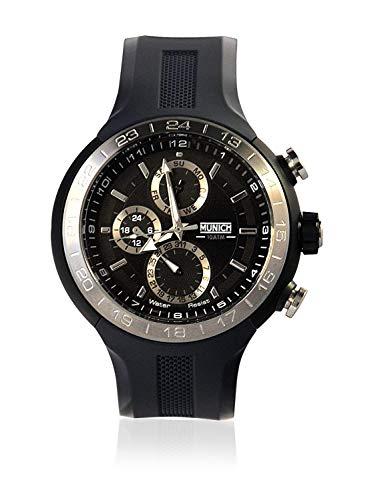 Munich Reloj Analógico-Digital para Unisex Adultos de Cuarzo con Correa en Caucho MU+114.1B