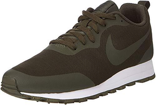 Nike Herren Md Runner 2 19 Leichtathletikschuhe, Mehrfarbig (Cargo Khaki/Cargo Khaki/Vintage Lichen 000), 44 EU