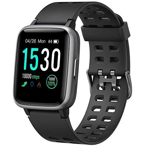 Willful Smartwatch Orologio Fitness Tracker Uomo Donna Sportivo Smart Watch IP68 Cardiofrequenzimetro da Polso Smartband Activity Tracker Contapassi C