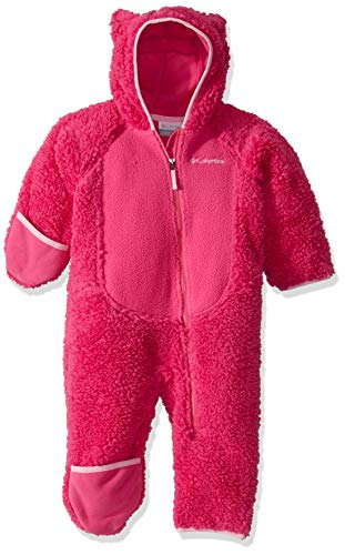 Columbia Foxy Baby Mono De Sherpa, Unisex niños, Pink Ice, Pink Clover, 6/12
