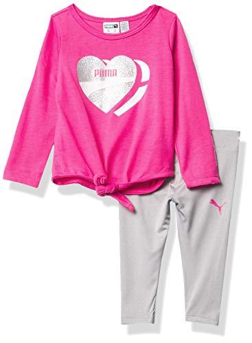 PUMA Baby-girls Camiseta de manga larga y legging
