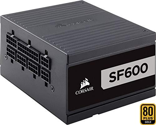 Corsair SF600 PC-Netzteil (Voll-Modulares Kabelmanagement, 80 Plus Platinum, 600 Watt, EU)
