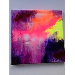 """""""Violet Dream"""", abstrakt, Acryl auf Leinwand, 20x 20 cm, Original,neu,"""