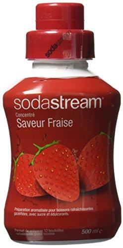 Sodastream Concentré Saveur Fraise 500ml