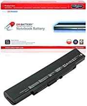 DR. BATTERY A42-U53 Battery Compatible with Asus U33 U33J U42 U42J U43 U43F U43S U52 U52J U53 U53F U53SD A31-U53 A32-U53 A41-U53[10.8V/4400mAh/48Wh]