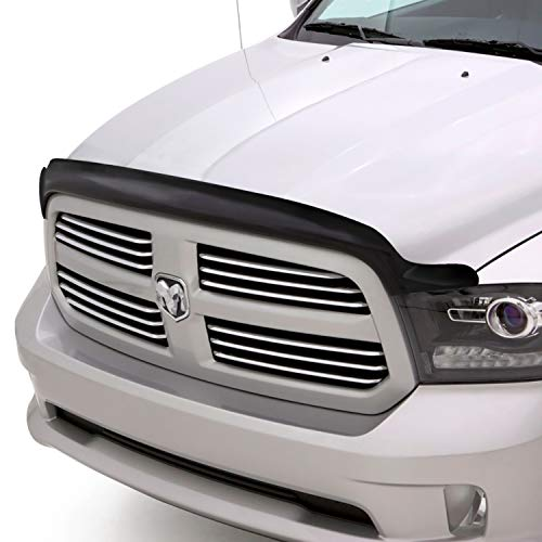 Auto Ventshade 25120 Bugflector II Dark Smoke Hood Shield for 2010-2018 Dodge Ram 2500 & 3500