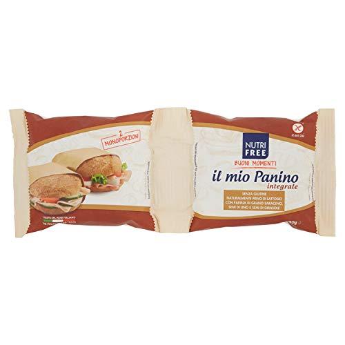 NutriFree il Mio Panino Integrale -180 g (90gx2), Senza glutine