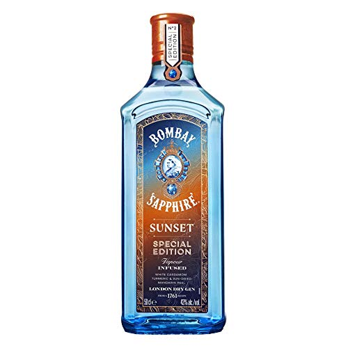 Bombay Sapphire Sunset Special Edition Gin (1 x 0.5 l)