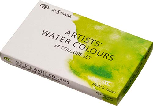 Kusakabe expert for watercolor paint set NW-24 (japan import)