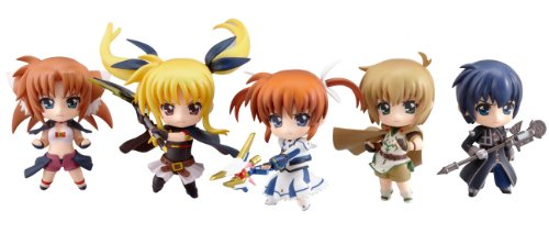 Nendoroid Petit: Lyrical Nanoha - The First Movie figurines (Display of 12)
