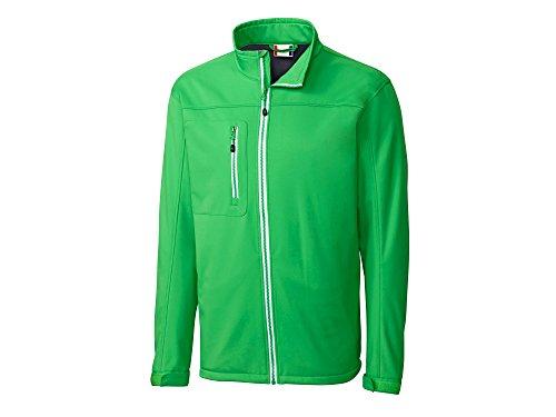 Clique Men's Telemark Softshell Jacket, Apple Green, Medium