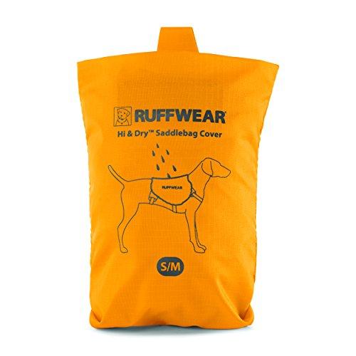 Ruffwear Wasserfeste Hülle für Hunde-Rucksack, Passend für ausgewählte Ruffwear Hunde-Rucksäcke, Größe: S/Medium, Gelb (Sunrise Yellow), Hi & Dry Saddlebag Cover, 5040-715SM