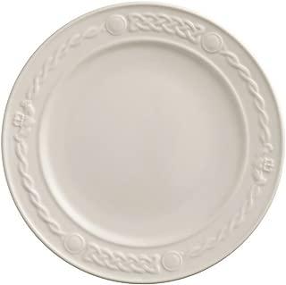 Belleek 4219 Claddagh Dinner Plate, Ivory