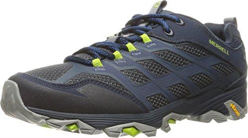 Merrell Men's Moab FST Hiking Shoe, Navy, 11 M US
