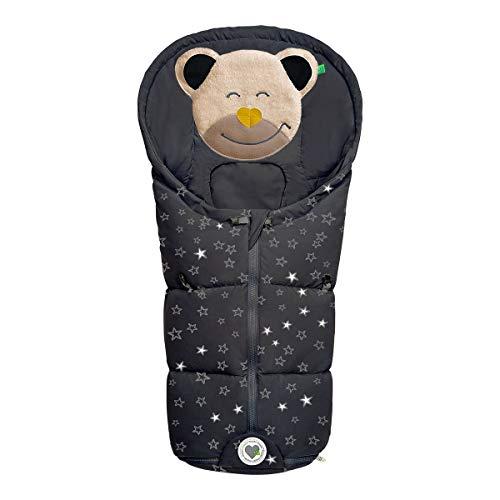 Winter-Fußsack Mucki Fashion für Babyschale, Tragewanne