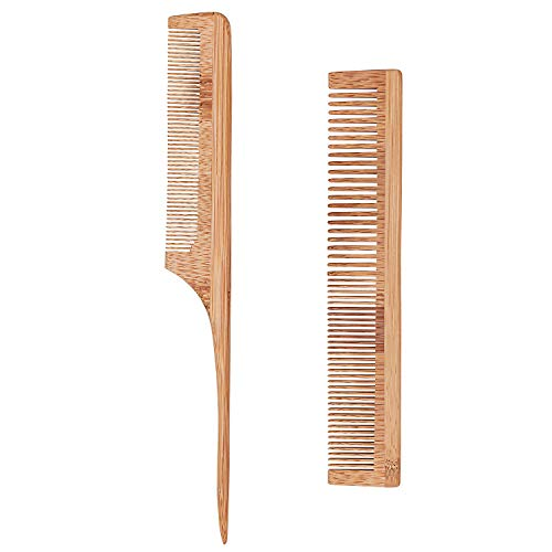 Bligo -   2 Stück Bambuskamm
