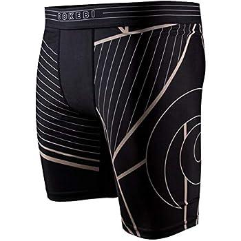 Dokebi Voltage BJJ Compression Shorts - Medium - Black