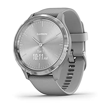 Garmin vivomove 3 Hybrid Smartwatch (Silver with Powder Gray Band)