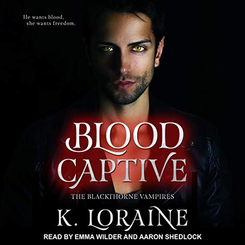 Blood Captive audiobook cover art