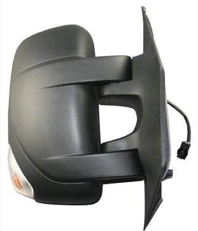Espejo retrovisor derecho completo eléctrico térmico brazo corto con intermitente y sensor de temperatura